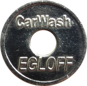 Car Wash Token - Carwash Egloff (Tägerwilen) – obverse