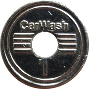 Car Wash Token - Carwash Egloff (Tägerwilen) – reverse