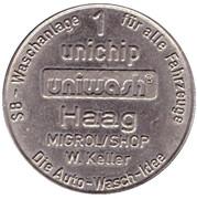 1 Unichip - Uniwash (Haag) – obverse