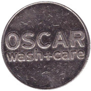 Car Wash Token - Oscar (Zug) – obverse