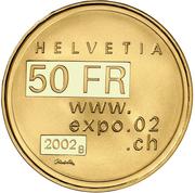 50 Francs (Expo.02) -  obverse