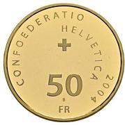 50 Francs (Matterhorn) -  obverse