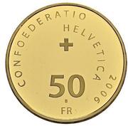 50 Francs (Pontifical Swiss Guard) -  obverse