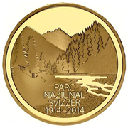 50 Francs (Swiss National Park) -  obverse