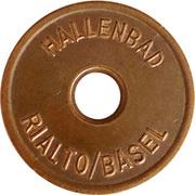 Token - Hallenbad (Rialto/Basel) – obverse