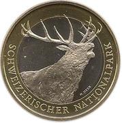 10 Francs (Red deer) -  obverse