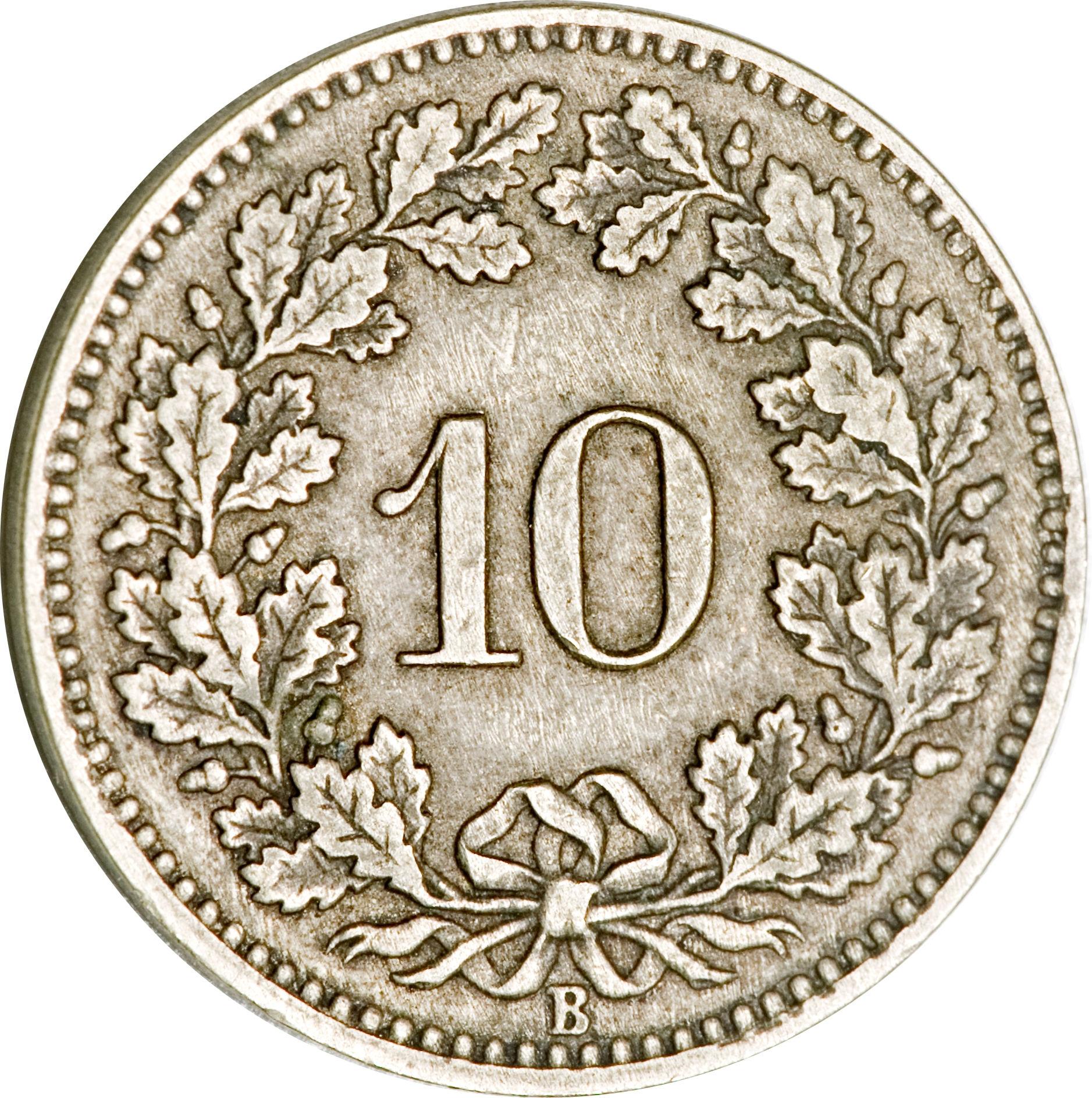 10 centimes Ecusson - Suisse – Numista