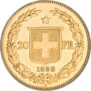 20 Francs (Libertas) -  obverse