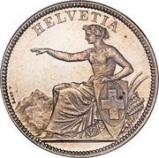 5 Francs (Helvetia seated) -  obverse