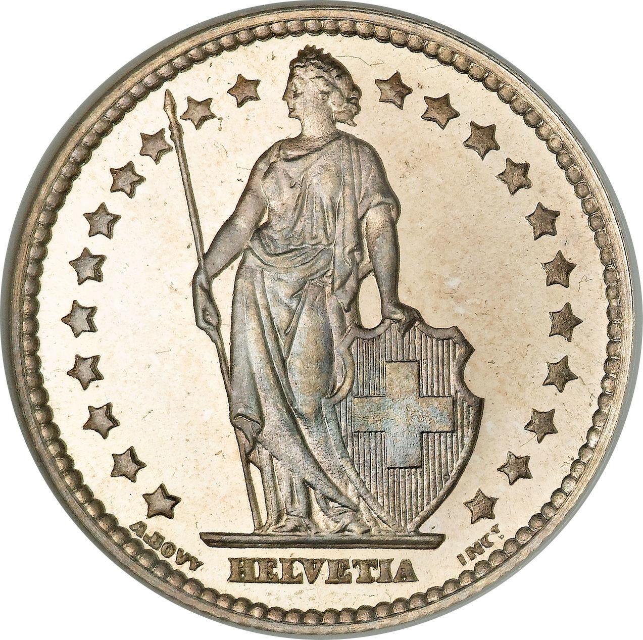1 Franken Switzerland Numista