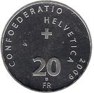 20 Francs (Brienz-Rothorn Railway) – reverse