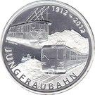 20 Francs (Jungfrau Railway) – obverse