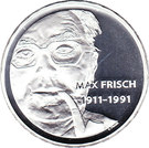 20 Francs (Max Frisch) – obverse