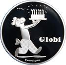 20 Francs (80 Years of Globi) – obverse