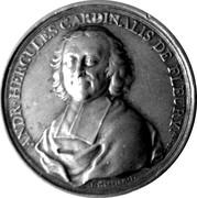 Medal - Cardinal André Hercule de Fleury  (Basel Bishopric) – obverse