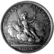 Medal - Cardinal André Hercule de Fleury  (Basel Bishopric) – reverse