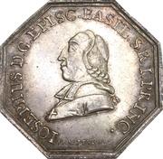 Medal - Reopening of the Porrentruy mint - Joseph Sigismund von Roggenbach (Bistum Basel) – obverse