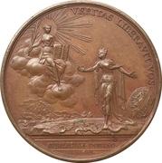 Medal - Bicentenary of the Reformation in Geneva – reverse