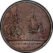 Medal - Naval battle of Actium (Geneva) – reverse