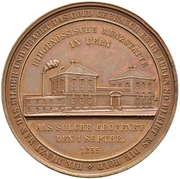 Medal - Opening of the Federal Mint (Canton of Bern) – obverse