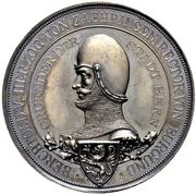 Medal -  Foundation of Bern (Canton of Bern) – reverse