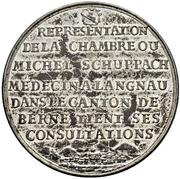 Medal (Canton of Bern) – reverse