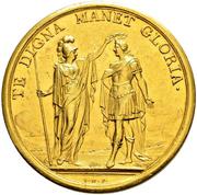 19 Ducat - Medal of Merit (Bern) – reverse