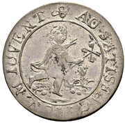 12 Kreuzer (Magistrate token of Bern) – reverse