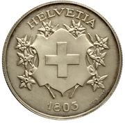 Medallion - Canton of Vaud – reverse