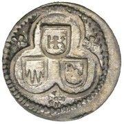 3 Heller - Karl Ludwig II. Ernst – obverse