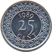 25 Cents -  obverse