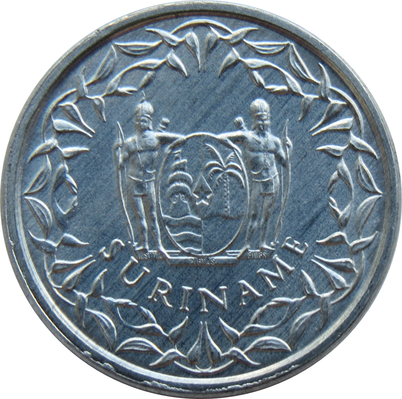 1 Coin Only Beautiful! 42 Available 1977 Suriname 1 Cent High Grade