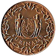 1 Cent - Juliana – obverse
