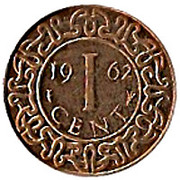 1 Cent - Juliana – reverse