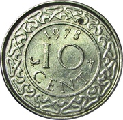 10 Cents - Juliana – reverse
