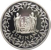50 Guilders (125th Anniversary De Surinaamsche Bank) – obverse