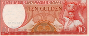 10 Gulden (1963 Issue) -  obverse