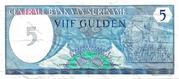 5 Gulden – obverse