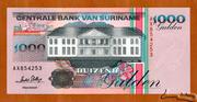 1 000 Gulden – obverse