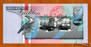 1 000 Gulden – reverse