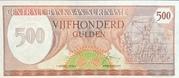 500 Gulden – obverse