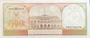 500 Gulden – reverse