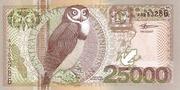 25,000 Gulden – obverse