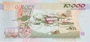 10,000 Gulden – reverse