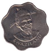 10 Cents - Sobhuza II (FAO) – obverse