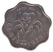 10 Cents - Sobhuza II (FAO) – reverse
