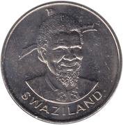 1 Lilangeni - Sobhuza II – obverse