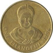1 Lilangeni - Mswati III (2nd portrait) – reverse