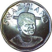 50 Cents - Mswati III – obverse