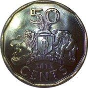 50 Cents - Mswati III – reverse